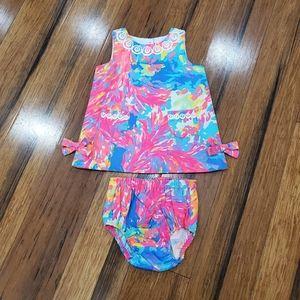 Lilly Pulitzer shift dress 6-12 months